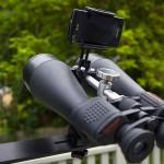 Binocular setup